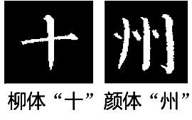 下一个笔画的起笔在竖画的右边,那么竖画的收笔应该由左往