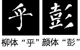 撇的写法——短撇(3):圆笔短撇  圆笔起笔的短撇叫圆笔短撇